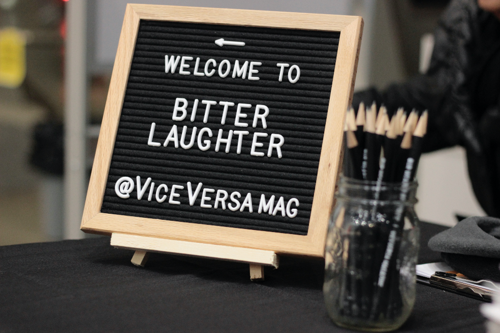 bitter laughter viceversa magazine