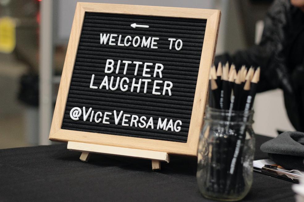 bitter laughter viceversa magazine